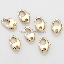 6mm x 10mm Fashion Jewelry components,Wholsale Jewelry findings Lobster Clasp,Nickel Free lead Free Metal brass Jewelry findings