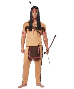 PGMC1026 New Design Party Carnival Costumes Adults Funny Cave Costume Indian Costume