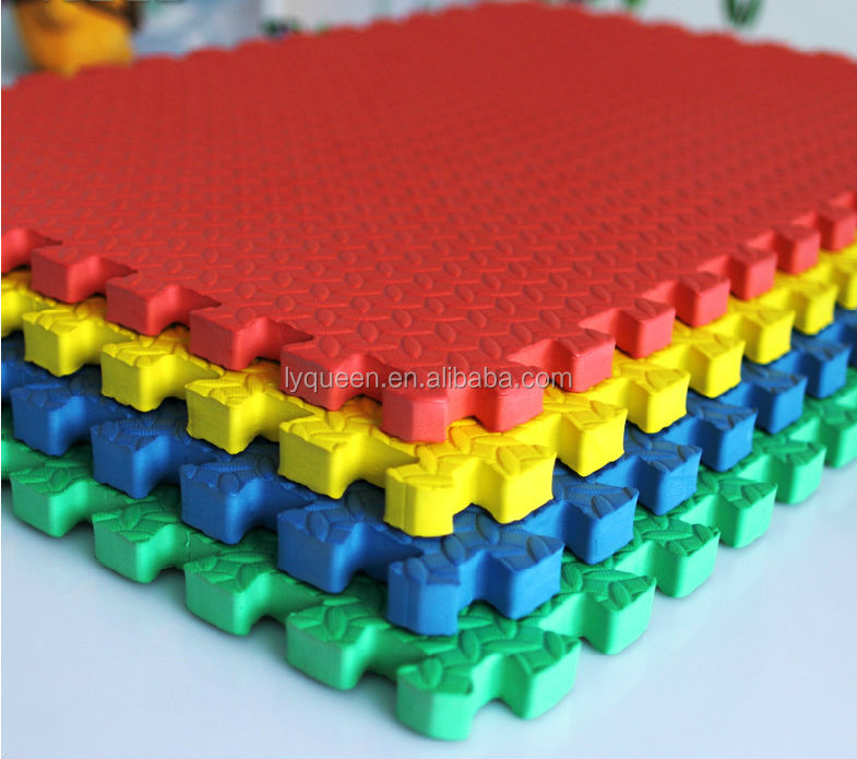 60x60cm Colourful Rubber Eva Sheet Joint Bate Baby Floor