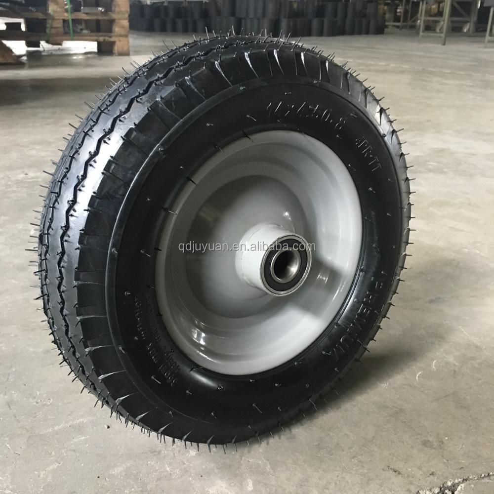Pu rueda 400 schubkarrenrad llena de goma 4.80//4.00-8 gummirad
