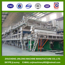 Most Advanced 2850-500 Crescent Former Tissue Paper Making- Machine selling hot at oversea