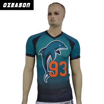 wholesale cheap national team latest designs youth custom training sublimated  american football jersey d4d548ddb