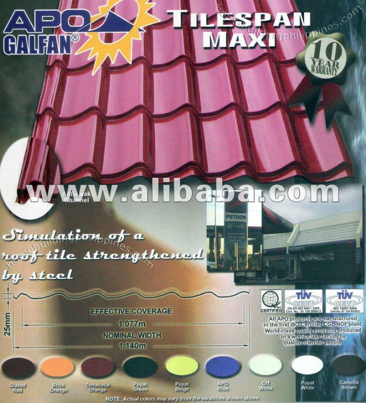 Apo Excel Roof Dn Steel Roofing Polycarbonate Sheets Buy Roofing Materials Product On Alibaba Com