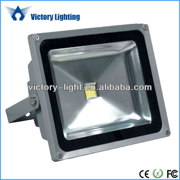 Pure White 50W Projector Outdoor Solar LED Flood Light