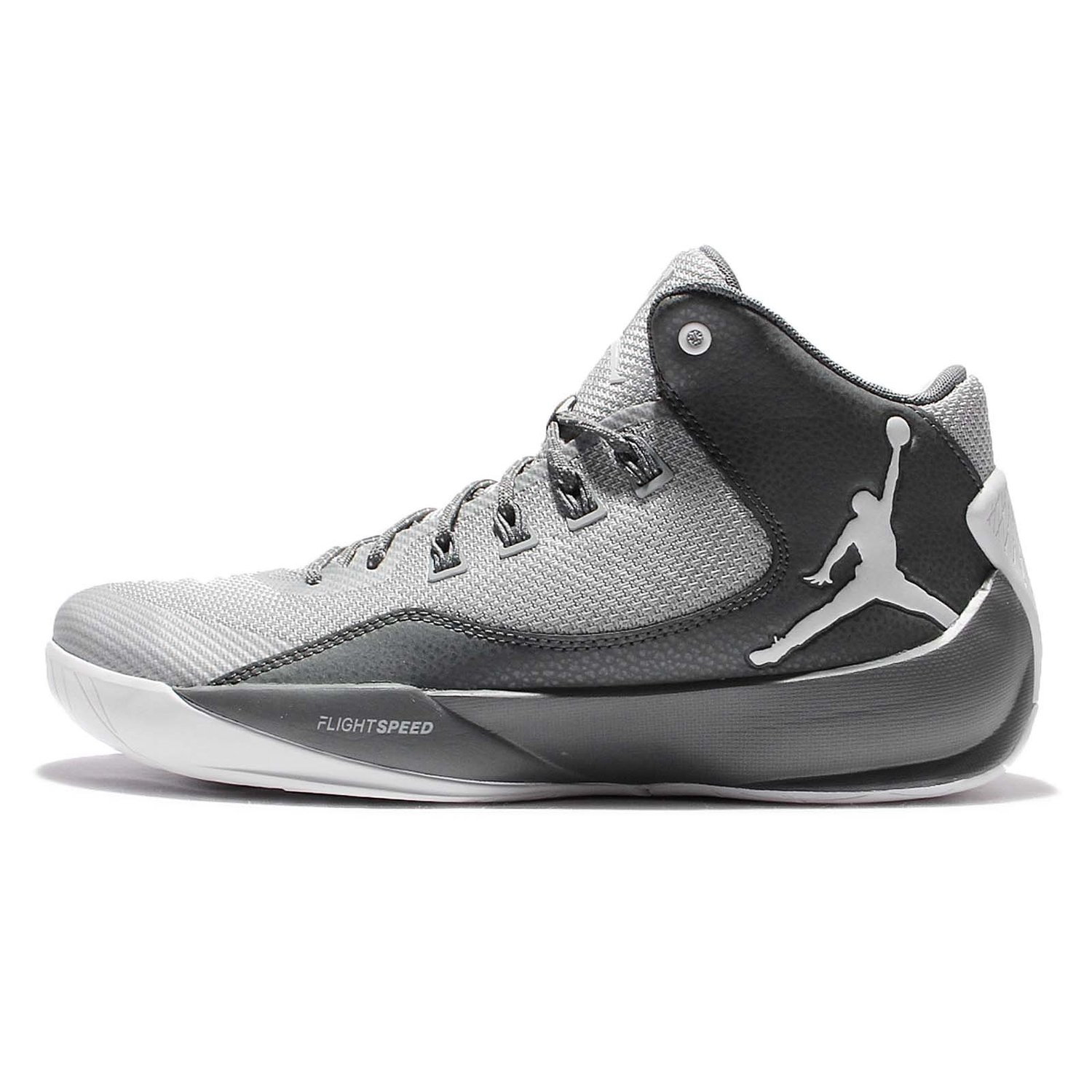 reputable site 444b1 80952 Jordan Men s Rising High 2 X, WOLF GREY WHITE-COOL GREY-INFRARED