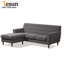 Resun sofa set pictures wood turkish sofa furniture With Chaise Daybed