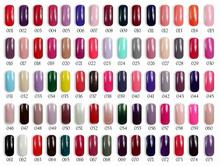 6pcs Florales classic pure bright color Gel Nail polish 15ml 139 colors for choices