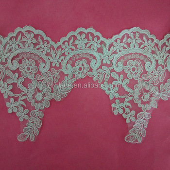 african corded lace trim,corded border lace
