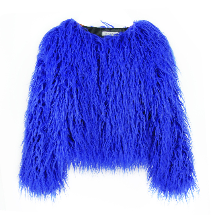 New <strong>Fashionable</strong> Style <strong>Winter</strong> Warm Thicken <strong>Coat</strong> Best Selling Short Faux Fur Jacket Women