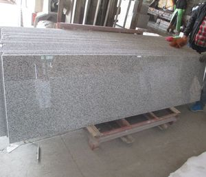 China Grey Granite G623 Prefabricated Countertop Slabs