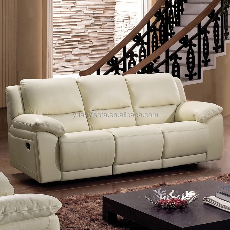 Yr5168 Comfortable White Leather Cheers