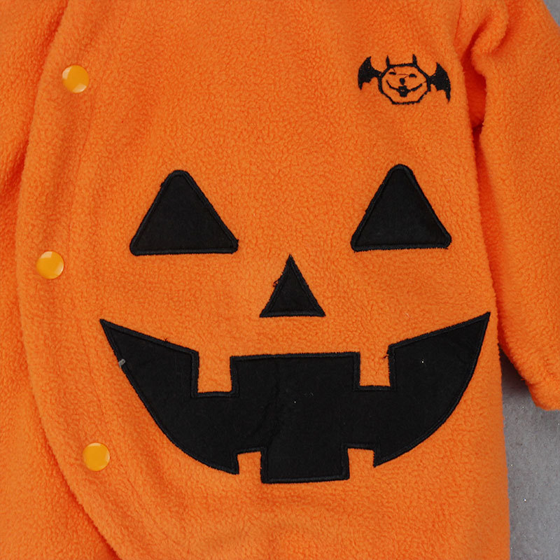 For Halloween babies go out in bat-like warm hoodies