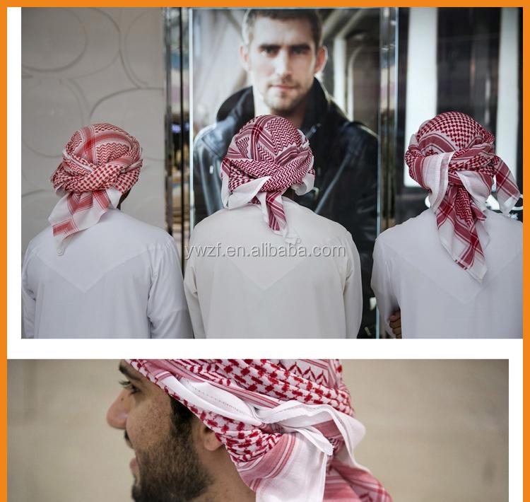 Qatari Or Gulf Men Ghutra Islamic Wear
