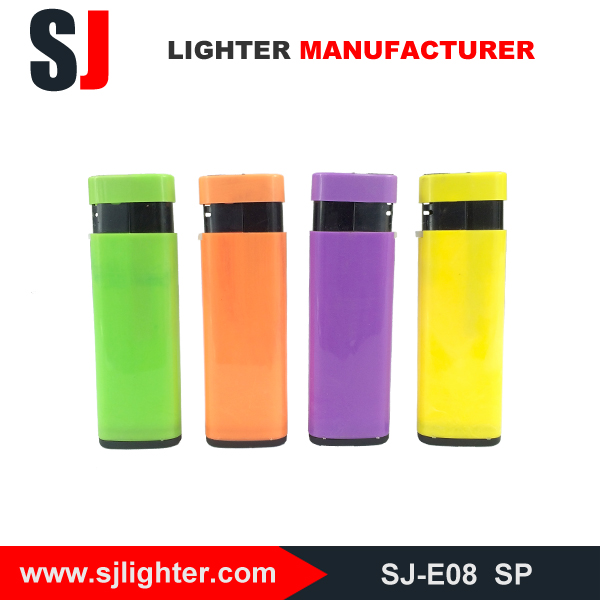 Plastic jet custom clipper lighters