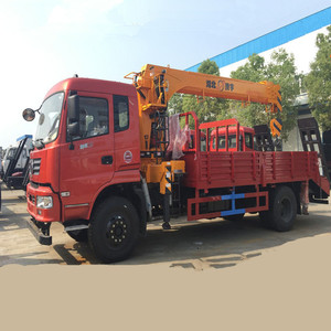 High Quality self Loading Crane Truck With 5 Tons Truck With Crane 3 Ton  Crane Truck With 3 Tons