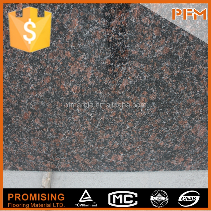 hot sale natural well polished tan brown granite saphire brown granite