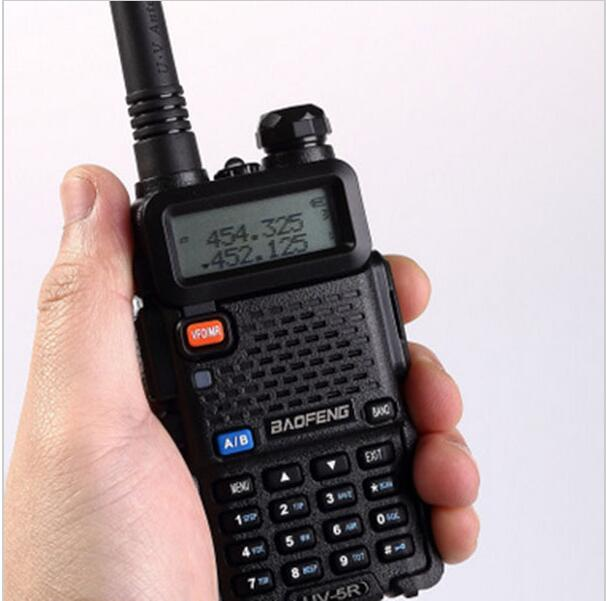 Baofeng UV-5R Walkie Talkie Dual Band Two Way Radio FM VOX Dual Display Radio Communicator 5W 128CH VHF/UHF