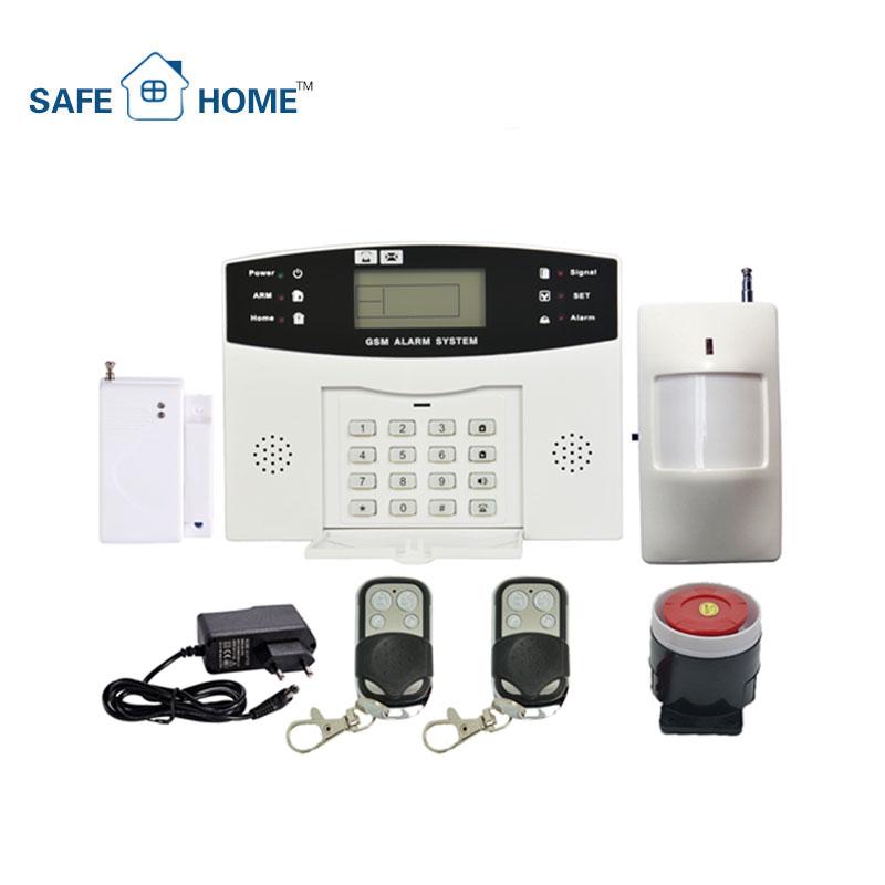 トップ品質! 貴重な工場製液晶画面ワイヤレス Gsm ホーム盗難警報システム競争力のある価格