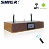 Home Theater Audio System with wireless microphone and android wifi karaoke system smart touch screen speaker