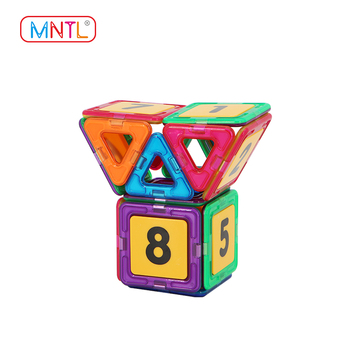 Magnetic Construction Plastic Building Connector Blocks for Kids