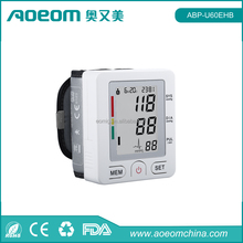 Bluetooth 4.0 wrist digital blood pressure monitor / sphygmomanometer