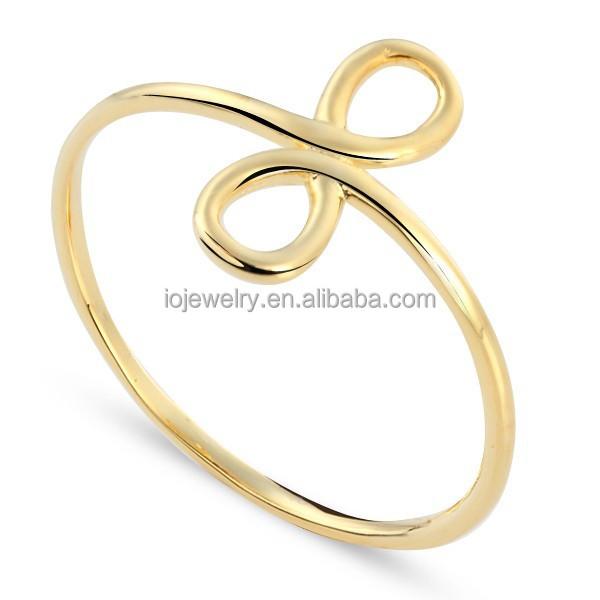 Dise o simple para hombre anillo de oro llanura de oro for Disenos de joyas en oro