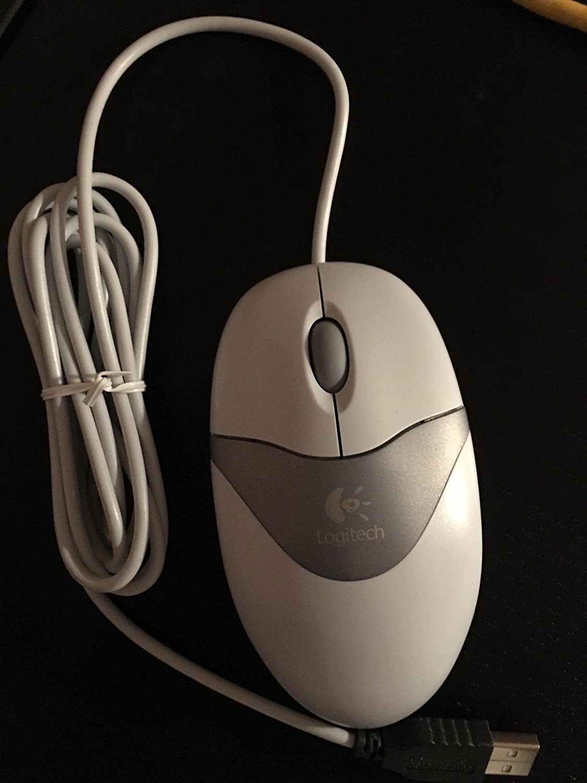 Cheap Logitech Usb Optical Wheel Mouse Find B100 Get Quotations Desktop White Three Button Scroll M Bj58