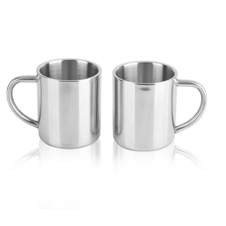 Bulk 14 Oz Double Walled Insulated Tea Cup Stainless Steel