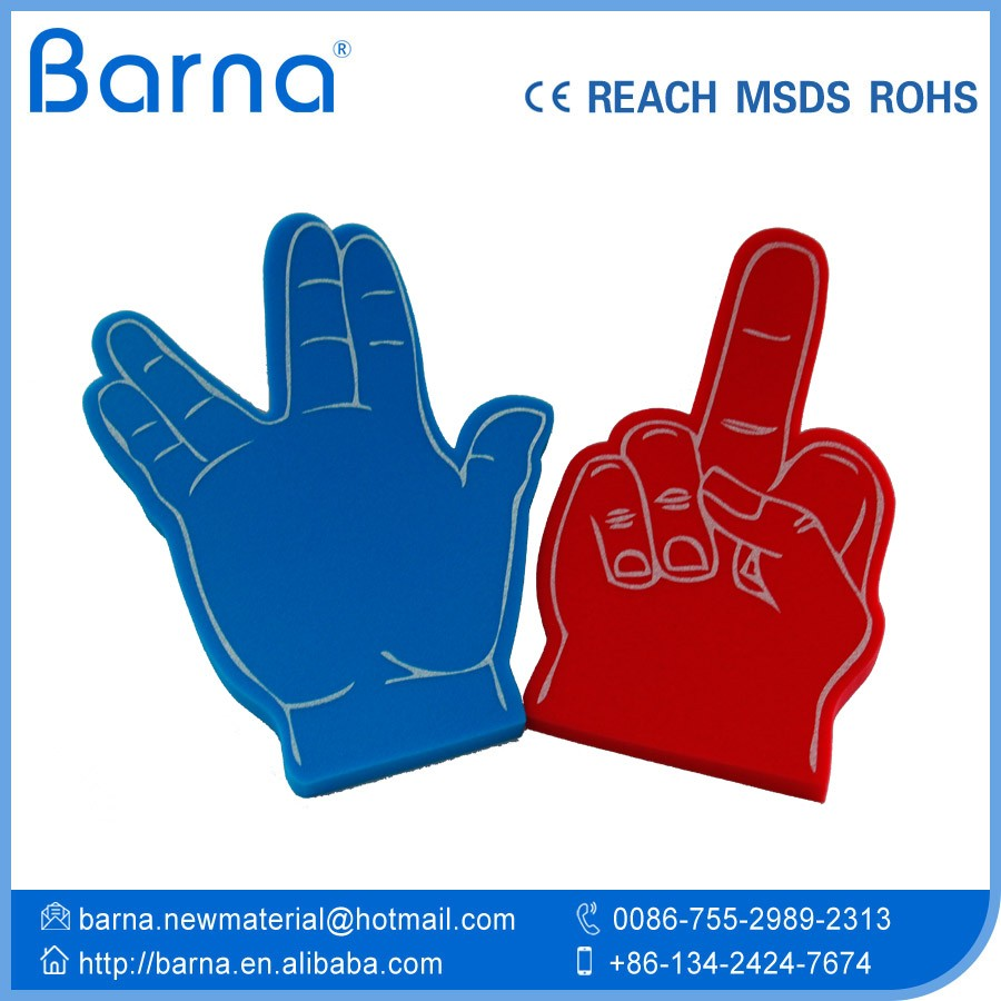 China Designed Foam Finger Cheering Foam Hand Promotional Products ...