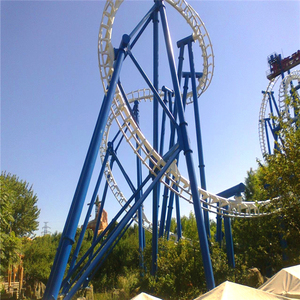 China factory price large playground ride attractive and thrilling suspended roller coaster for sale