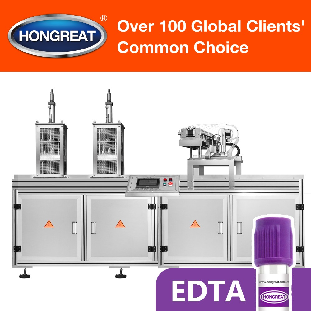 Automatic EDTA Vacuum Blood Collection Tube Drying Spraying Machine