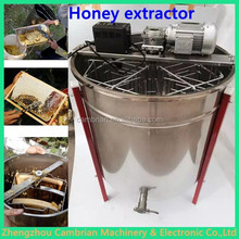 Hot selling 6 frames staninless steel honey by manual with lowest price