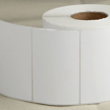 90mm*40mm *1000 PCs/roll Sticker Paper ,Blank White Sticker ,Sticker Roll Wholesale from China Factory