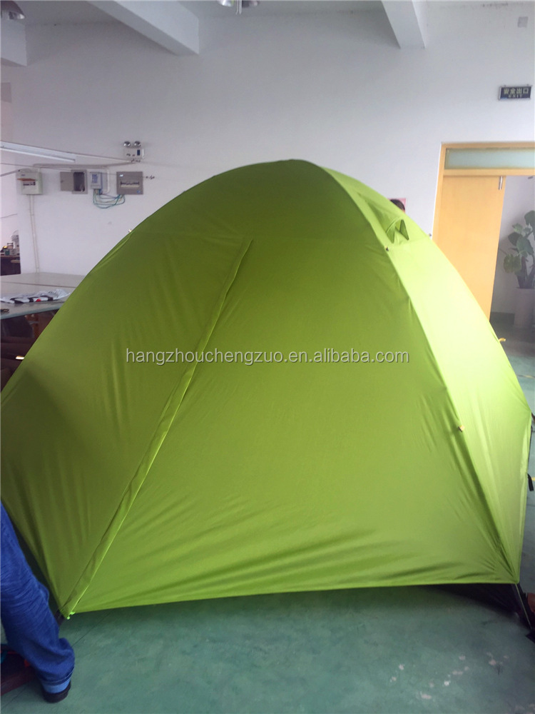 Hot Selling Aluminum Pole Double Layers 6 Person Easy Foldable Waterproof Camping <strong>Tent</strong>, CZX-169B Backpacking 6 Person <strong>Tent</strong>