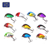 Most Popular 2.8cm/1.7g hard body plastic mini fishing crank bait