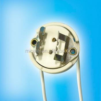 Ceramic Fds Gy9.5 Gz9.5 G9.5 Socket Halogen Lamp Holders Bases ...