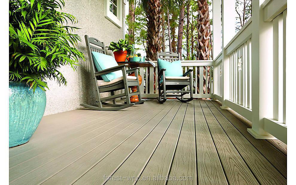 Houten vloer board houten vloer voor zwembad houten tuin tegel
