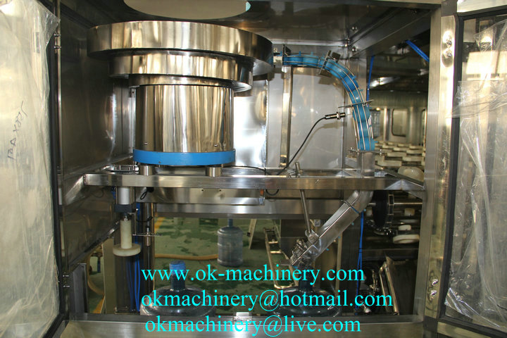 KF-17 5 gallon barrel water filling machine