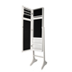 Chinese new floor standing full length mirror jewelry cabinet
