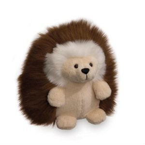 "Ganley the Brown Hedgehog 6"" Plush Stuffed Child Kids Toy"