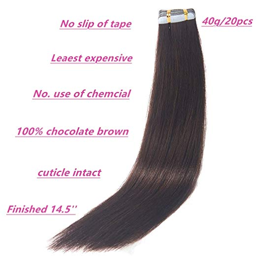 Tape in hair extensions human, Grade 9a virgin tape hair extensions, double drawn brazilian tape hair extension human hair