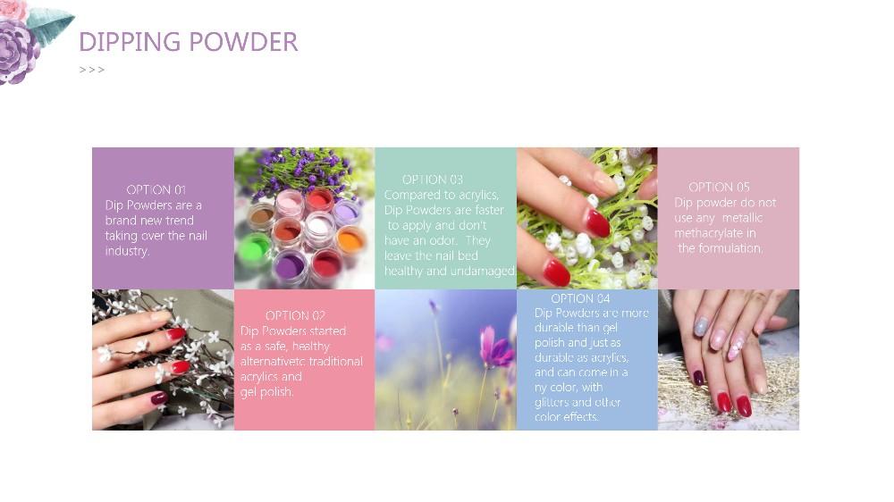 Kds Organic Nail Polish Powder,Gel Nail Polish Dip Powder - Buy Dip ...