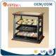 wood bakery bread display cabinet unit with layer for bread kiosk