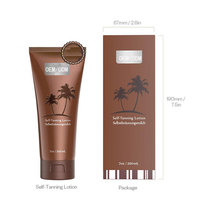 Dark Self Tanner - Organic Bronzer Tanning Sunless Body Lotion Sun tan product self tanning Lotion Manufacturers wholesale