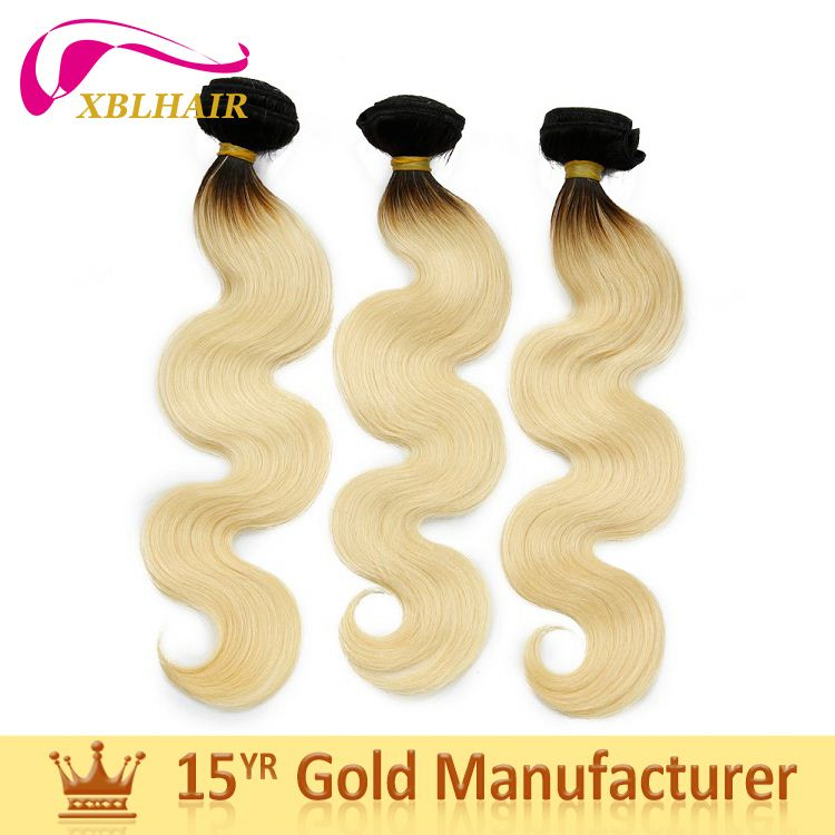 2017 new XBL hair one donor bundles healthy silver hair extensions