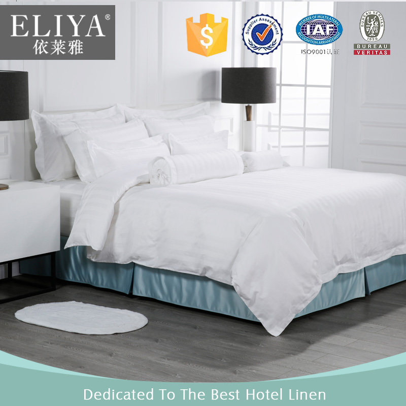 ELIYA Factory 100 Cotton King Size Quilt Cover Luxury Hotel Linen Bed Set