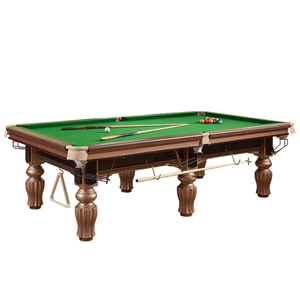 Superior Pool Billiard Table Chinese 8 Balls Table Factory Outlet