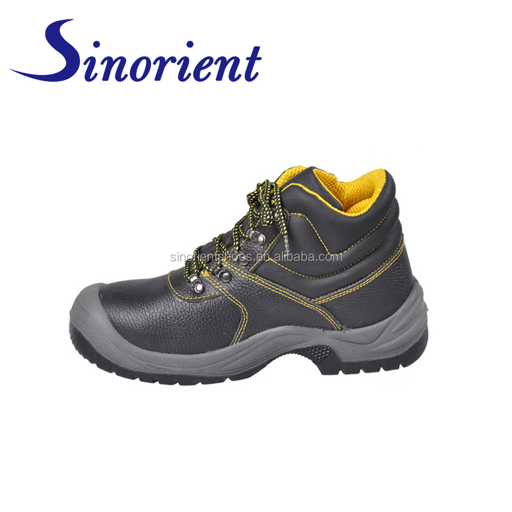 8eb34abd65b209 China safety shoes With wide steel toe protection Insert ground work safety  boots Top 10 shoe brands for men SNB1226