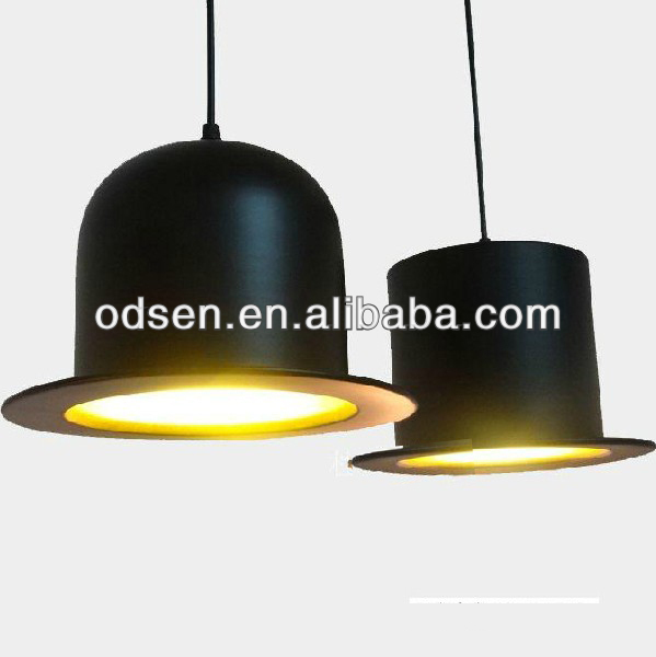 Aluminum 2 Lights New Modern Bowler/Tall Hat Ceiling Light Pendant Lamp Lighting