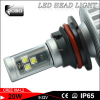 2016 latest design 9004/9007/h4 L/20W,H/30W hi/lo replace depo c.ree car led headlights for toyota corolla